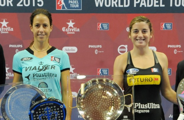 Ganadoras World Padel Tour 2015 Valencia