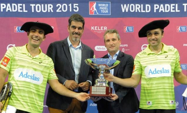Ganadores World Padel Tour 2015 San Sebastián
