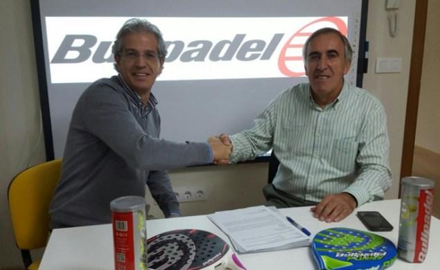 Acuerdo Bullpadel y la Federación Extremeña de Padel