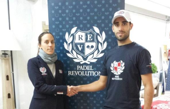 Javi Escalante ficha por Padel Revolution