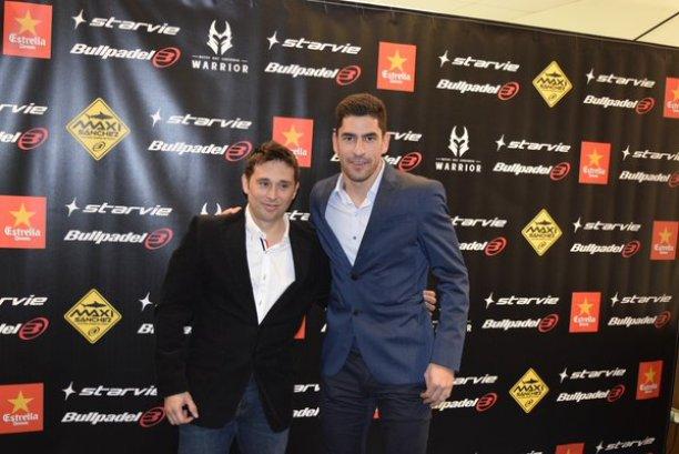 Maxi Sanchez y Matías Diaz se presentan como pareja