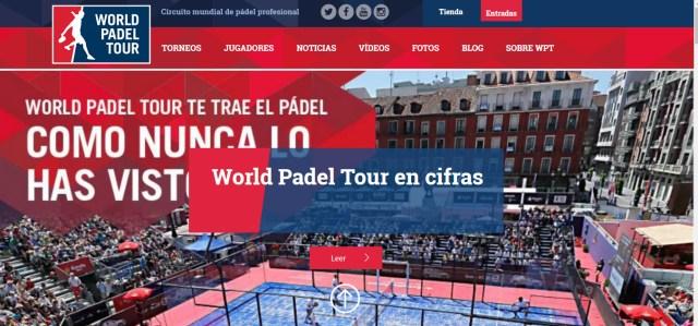 Nueva web World Padel Tour 2016