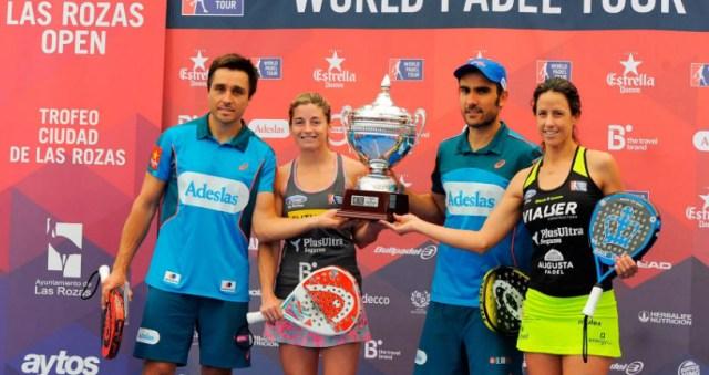 Ganadores World Padel Tour 2016 Las Rozas