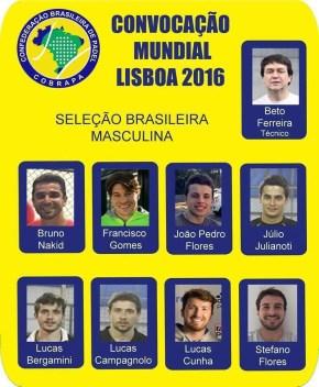 Seleccionados de Brasil para Mundial 2016