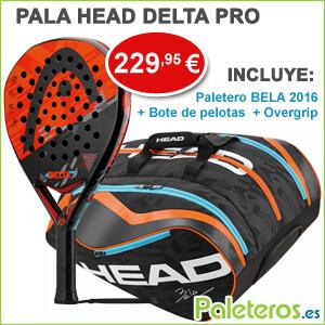 Pala HEAD Detal Pro y paletero Bela