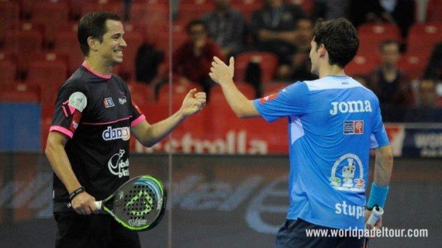 Marcello Jardim y Franco Stupaczuk quieren entrar en el Master Final