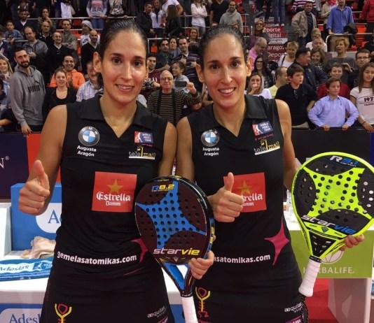Las gemelas de Sanchez Alayeto descalificadas