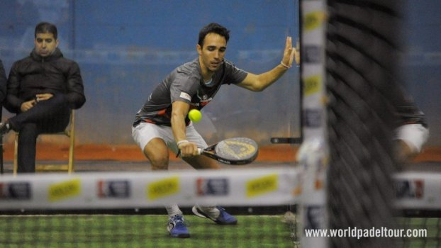Sergio Alba en el World Padel Tour