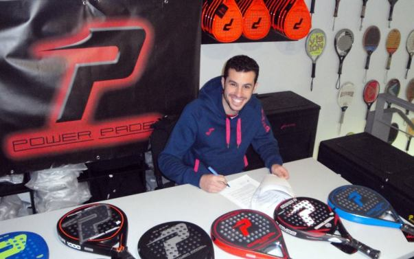 David García Campos ficha por Power Padel