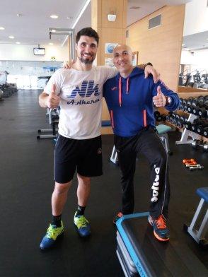Agustin Gomez Silingo se recupera de una lesión