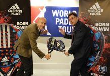 Adidas pala oficial del WPT