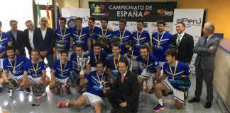 Ganadores del Campeonato de España por Equipos de 2ª Categoría