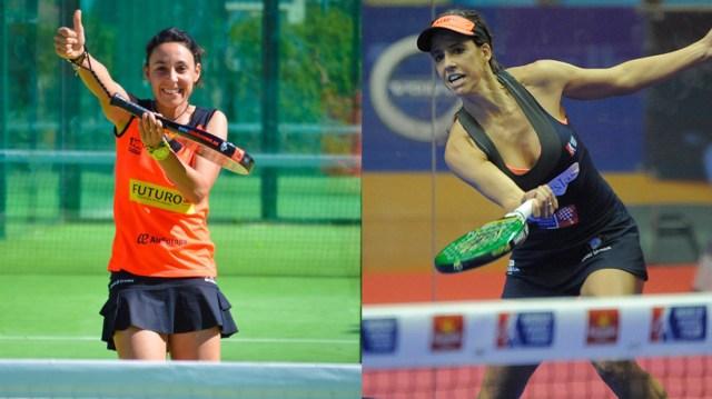 Sandra Hernández y Marta Marrero juntas