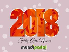 Feliz Año Nuevo 2018 de parte de MundiPadel