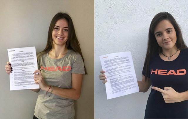 Tamara Icardo y Paula Josemaría fichan por HEAD