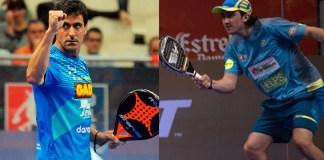 Borja Yribarren y Adrián Blanco pareja 2018