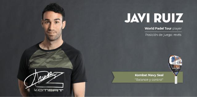 Javier Ruiz ficha por Kombat Padel