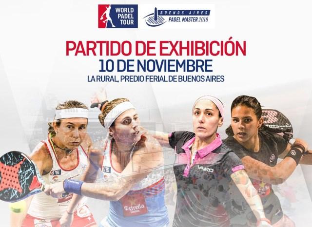 Exhibición Buenos Aires Pádel Master 2018