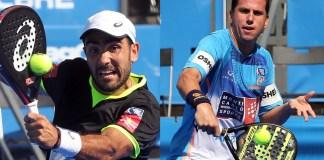Paquito Navarro y Pablo Lima pareja