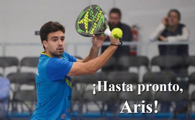 Aris Patiniotis abandona el pádel profesional