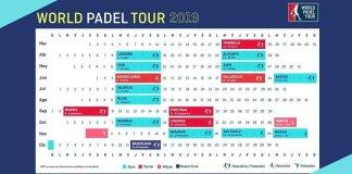 Calendario WPT temporada 2019