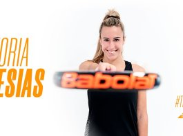 Victoria Iglesias ficha por Babolat