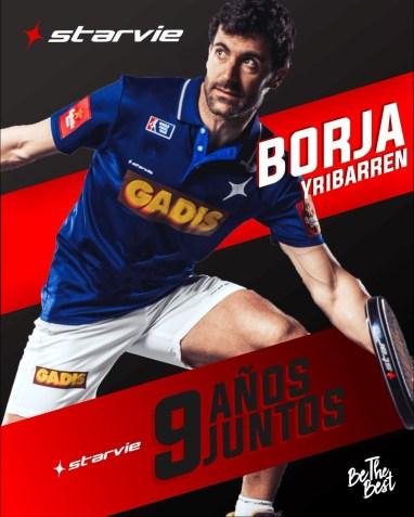 Borja Yribarren renueva StarVie