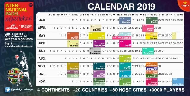 Calendario IPE 2019