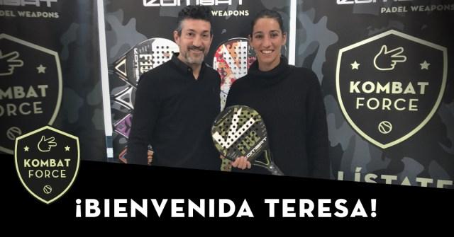 Teresa Navarro fichaje Kombat Padel