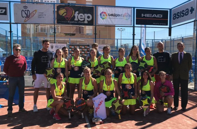 Ganadoras en el XXXV Campeonato de España por Equipos de 1ª Categoría