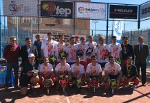 Ganadores en el XXXV Campeonato de España por Equipos de 1ª Categoría