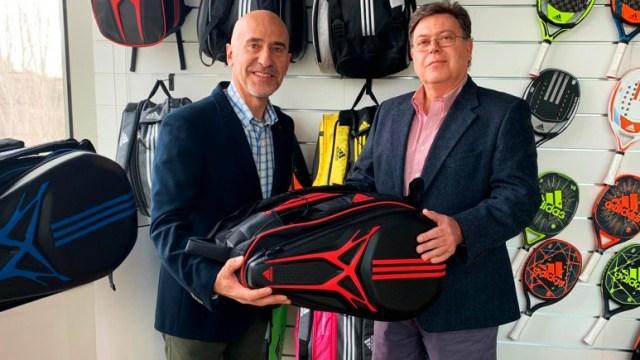 Adidas, bolsería oficial del World Padel Tour