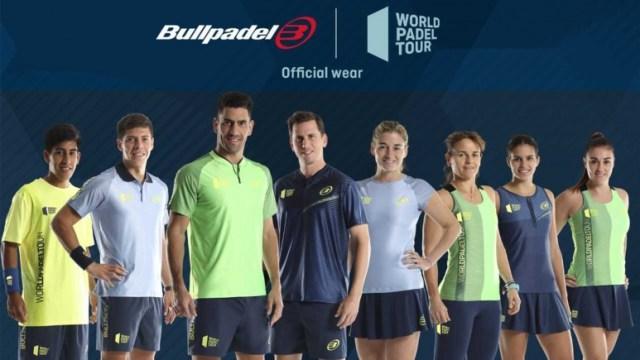 Bullpadel textil oficial wpt 2019