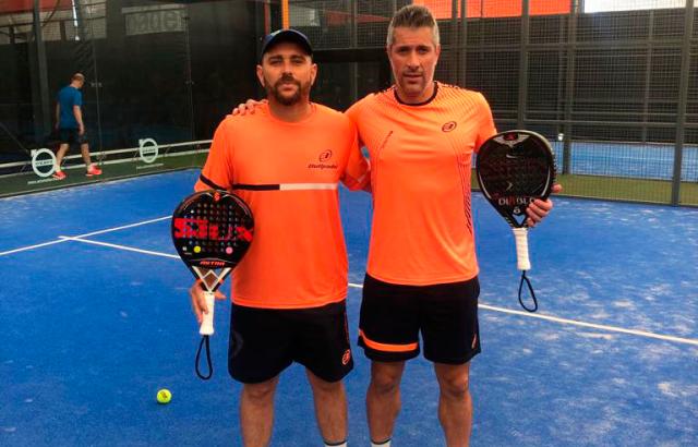 Jordi Muñoz y Matías Nicoletti  pareja
