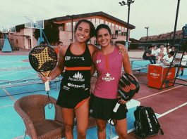 Bea Gonzalez y Delfina Brea pareja