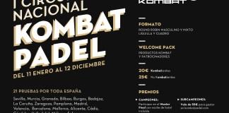 Cartel del Circuito Nacional Kombat