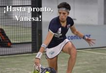 Vanesa Alonso deja el pádel profesional