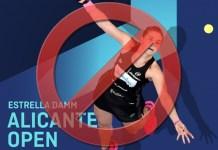 Alicante Open 2020 cancelado