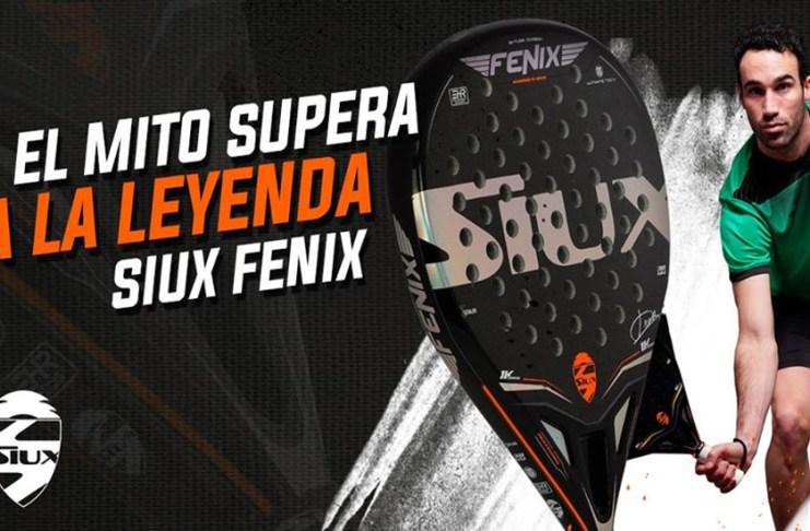 Siux Fenix, pala Javi Ruiz