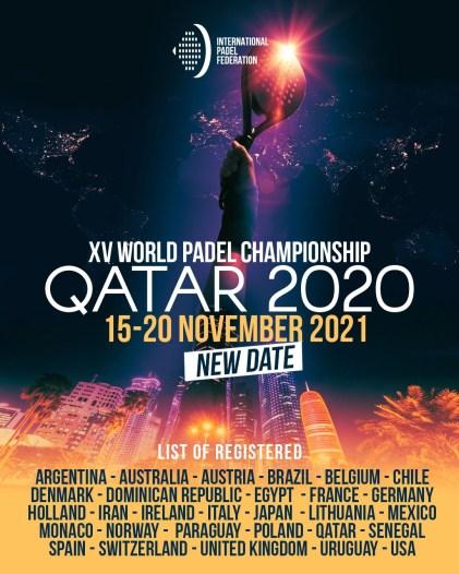Poster Mundial Padel 2021