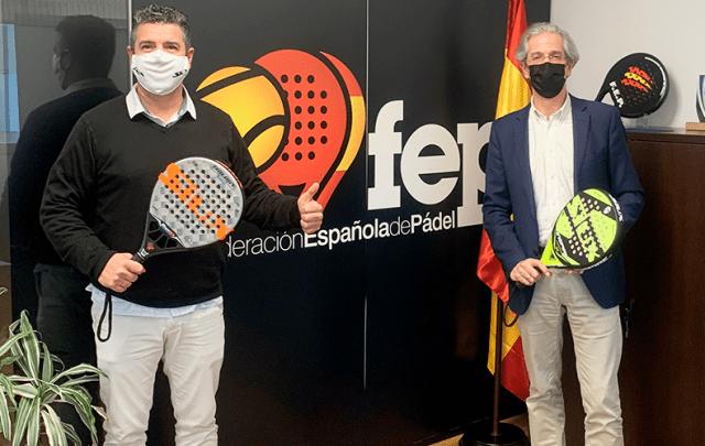 Siux patrocinador Federación Española de Pádel 2021