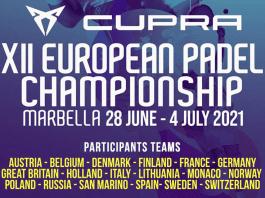 XII Campeonato Europeo de Pádel
