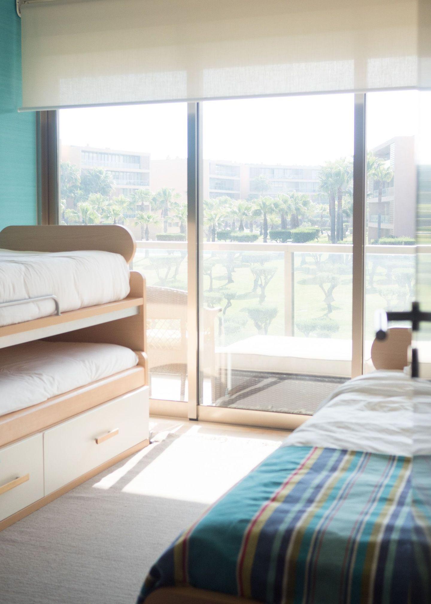 habitacion para niños apartamento algarve