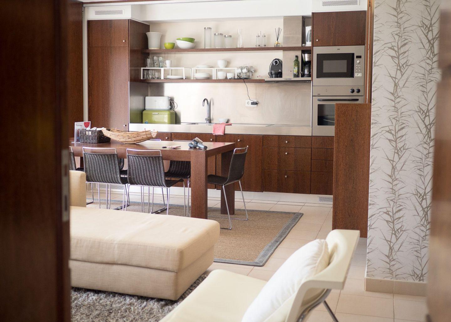 Apartamento algarve cocina