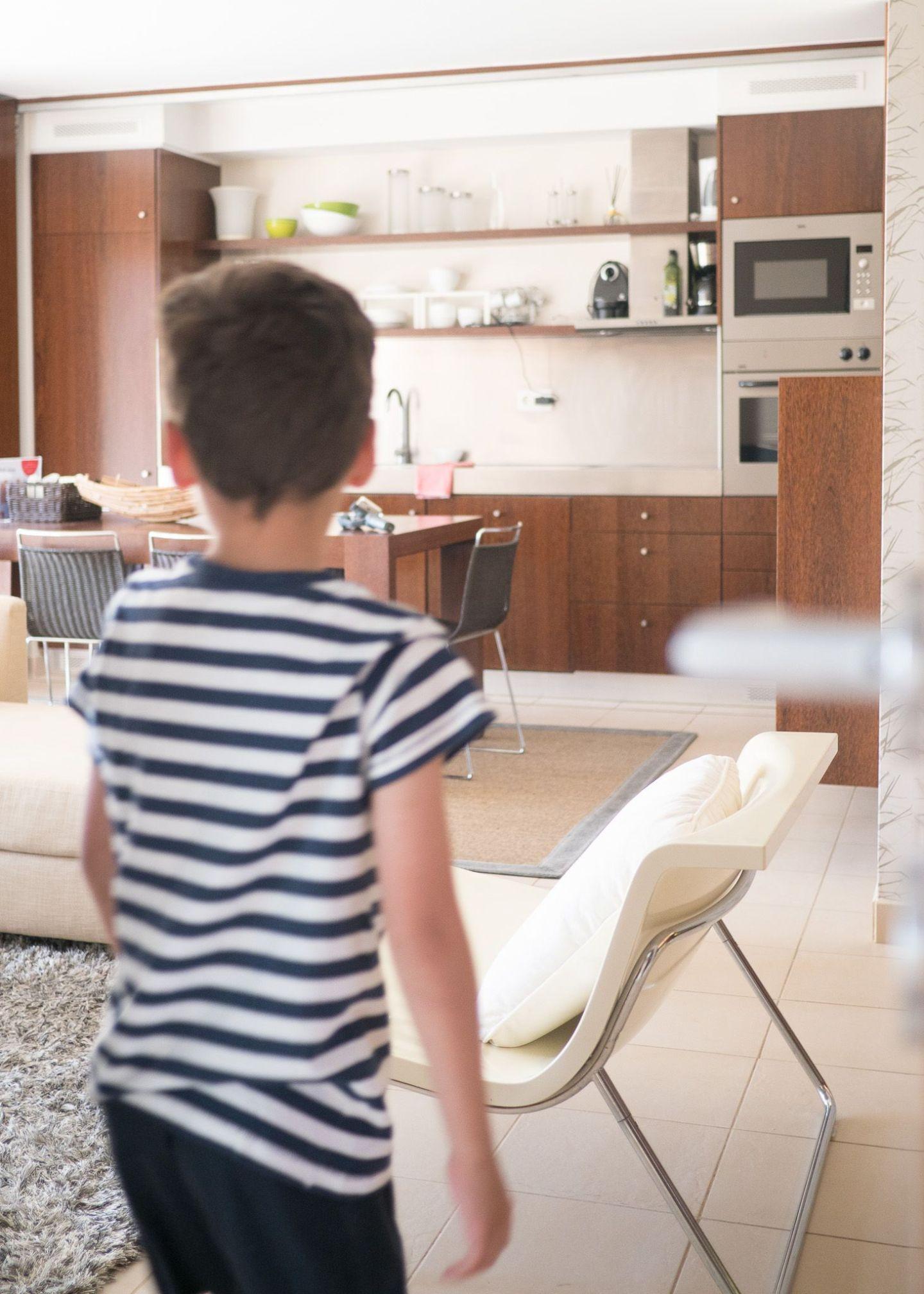 apartamento algarve zona cocina