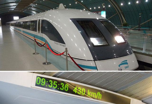 El tren más rápido del mundo