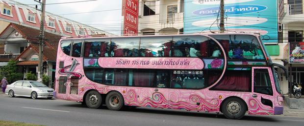 Autocar en Tailandia