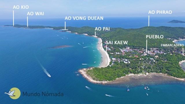 Mapa-de-Koh-Samed