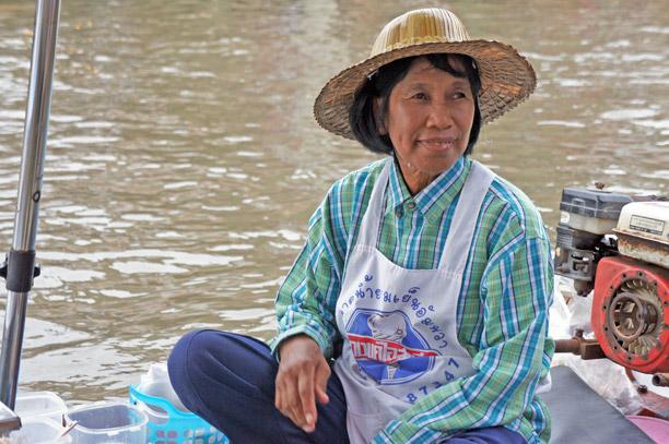 Fotos del Mercado flotante de Amphawa en Tailandia (2)