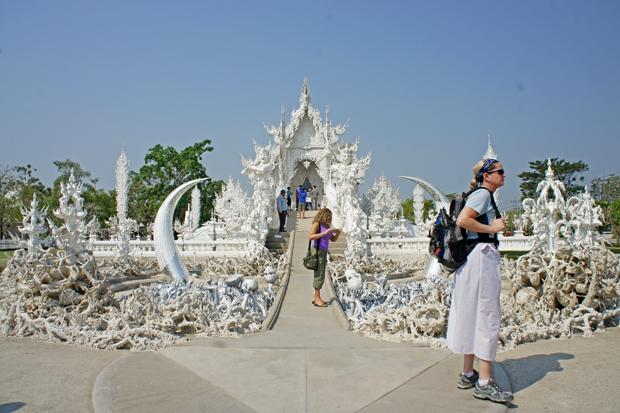 Templo-blanco-de-Chiang-Rai